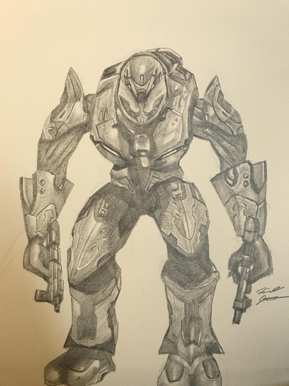 Halo 3 Elite Commando