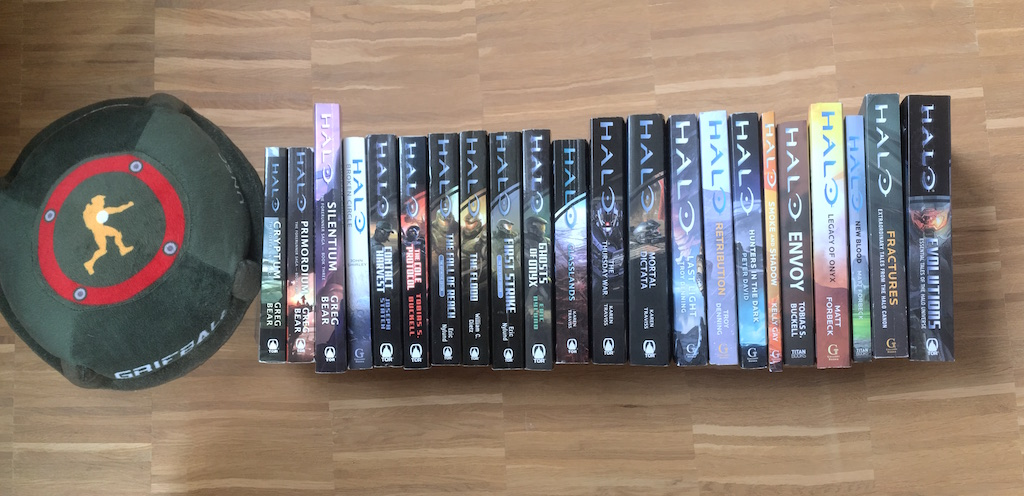 chronological order of the halo books | Fist Of The Unicorn